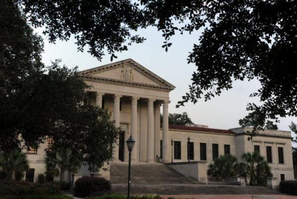 Photo of the LSU Law Center